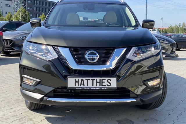 Gebrauchtfahrzeug Nissan X-Trail - Tekna :SOFORT   Pano DSG LED Navi Beiges Leder