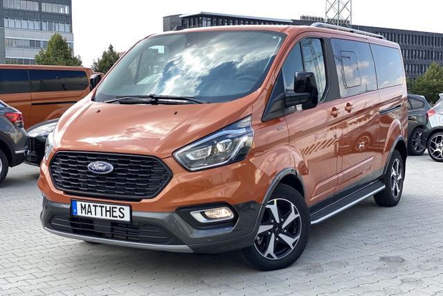 Lagerfahrzeug Ford Tourneo Custom - Active L2H1:SOFORT  NAVIGATIONSFUNKTION   Teilleder  WinterPak