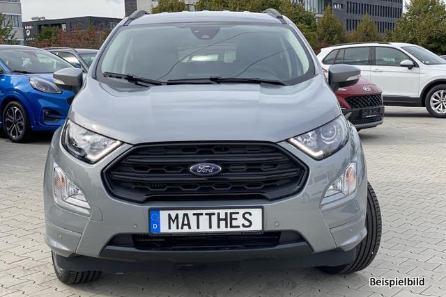 """Bestellfahrzeug, konfigurierbar Ford EcoSport - ST-Line : NAVIGATIONSFUNKTION    Teilleder  17"""""""