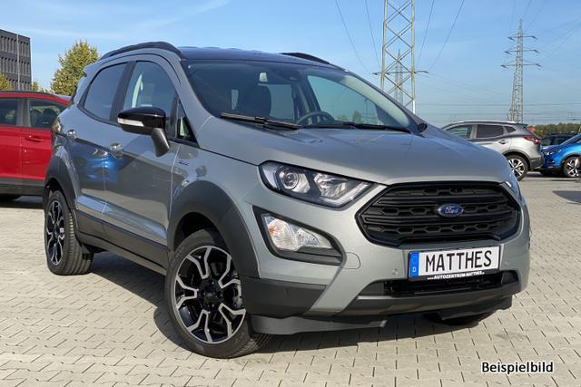 Bestellfahrzeug, konfigurierbar Ford EcoSport - Titanium : NAVIGATIONSFUNKTION    Teilleder