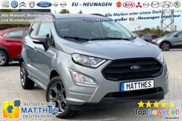 "Ford EcoSport (AKTION!) - ST-Line :Radio  Klimaaut.  Kamera  Parkhilfe v/h  17"" Alu  Tempo"