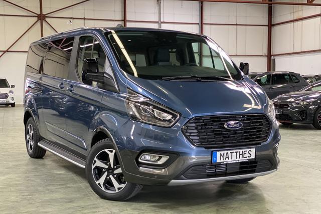 Lagerfahrzeug Ford Tourneo Custom - Active L2H1: SOFORT  NAVIGATIONSFUNKTION   Teilleder  WinterPak