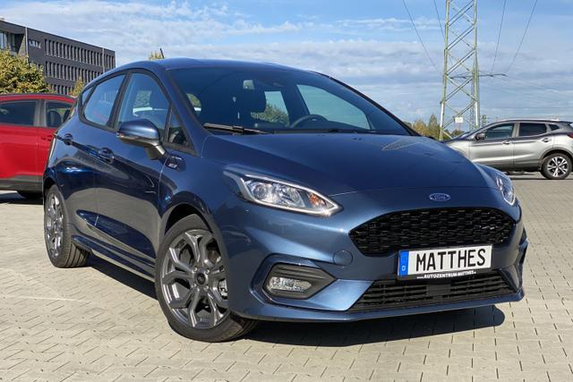 "Lagerfahrzeug Ford Fiesta - ST-Line :SOFORT  NAVIGATIONSFUNKTION   WinterPak  Klima  17"""