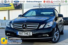 Mercedes-Benz E-Klasse Cabriolet GW -  Navi Automatik Leder Sitzheizung
