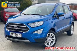 Ford EcoSport      Titanium :SOFORT  NAVI  B&O Soundsystem  Keyless  WinterPak  DAB