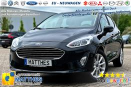 Ford Fiesta 5D - Titanium :Sofort  MheV  NAVI   Klimaauto  WinterPak