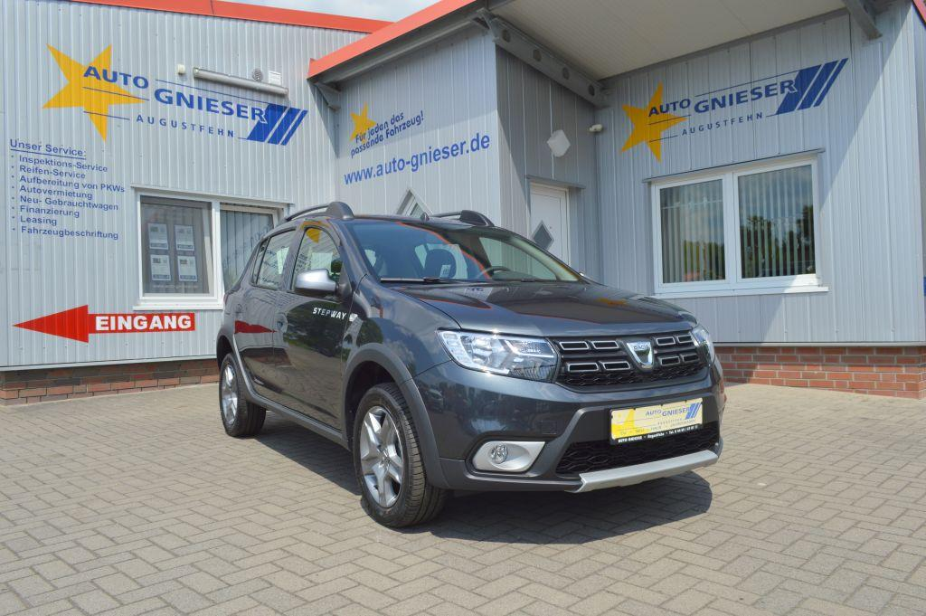 dacia sandero stepway tce 90 prestige sitzhzg navi pdc klima kamera dacia eu neuwagen. Black Bedroom Furniture Sets. Home Design Ideas