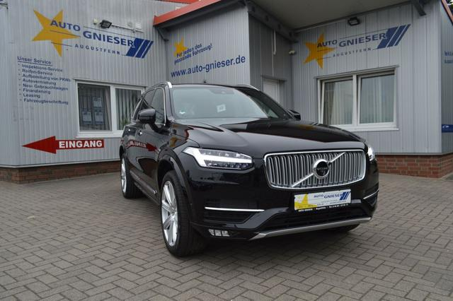 Volvo XC90 - D5 AWD Geartronic Inscription  LED Vollleder Navi Klimatr. Kamera