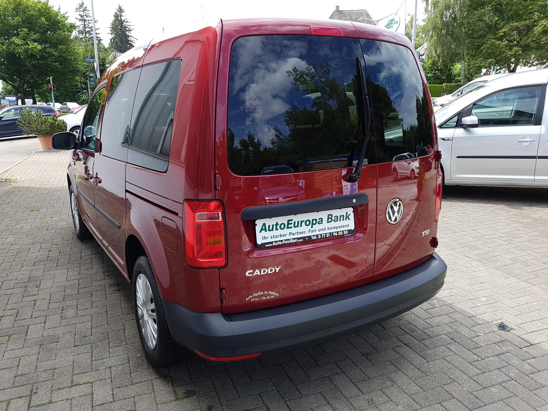 volkswagen caddy trendline 1 2 bluemotion tsi mit. Black Bedroom Furniture Sets. Home Design Ideas