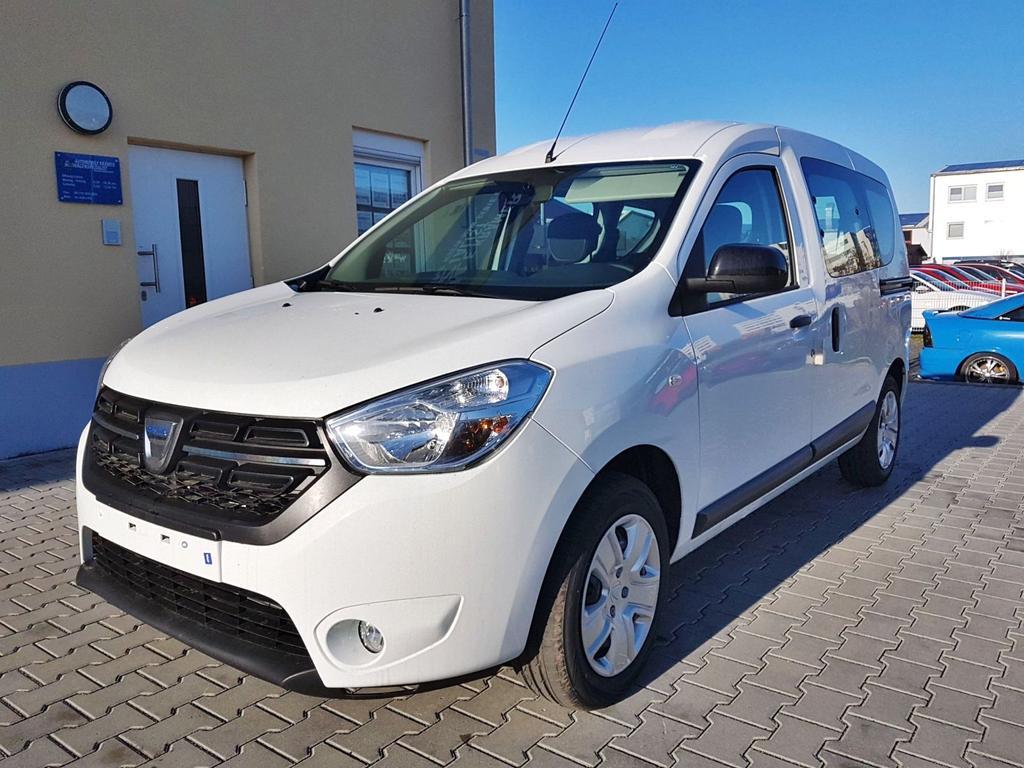 Ob Hobby, Familie oder Transporte für Ihr Geschäft der Dacia Dokker ist praktisch und vielseitig für alle Alltagssituationen. Komfortabel lässt sich das Fahrzeug von einem 5-Sitzer zum 2-Sitzer mit großer Ladefläche umgestalten. Dacia / Dokker / Weiß / Laureate  /  /