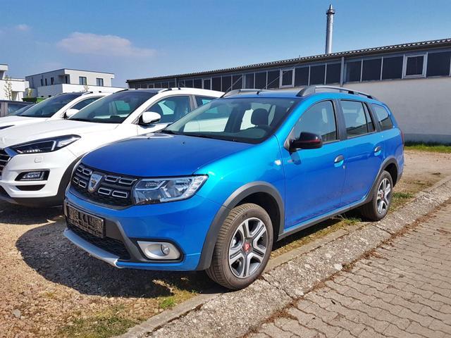 Lagerfahrzeug Dacia Logan MCV - Stepway Techroad Navi Kamera Klimaautomatik el FH hinten Ersatzrad