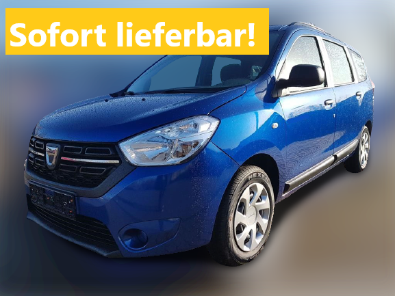 Lagerfahrzeug Dacia Lodgy - Comfort 7-Sitzer Navi Sitzheizung Einparkhilfe Kamera