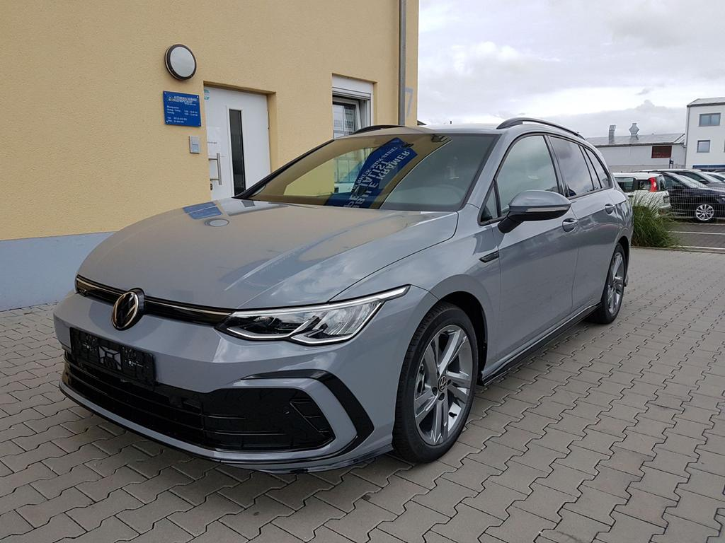 Volkswagen / Golf Variant / Grau / R-Line  /  / Mondsteingrau