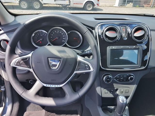 Lagerfahrzeug Dacia Logan MCV - Stepway Navi Kamera Klimaautomatik el FH hinten Ersatzrad