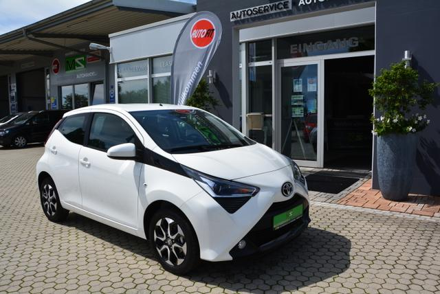 Toyota Aygo - 1.0 x - play connect / Klimaanlage Bluetooth Kamera/ ALU/LED Tagfahrlicht
