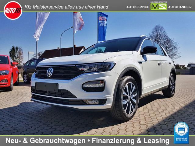 Volkswagen T-Roc - Style ''AKTIONSPREIS'' 1,0 TSI R-LINE ! NAVI DISCOVER-MEDIA / CLIMATRONIC ACC PDC ALU 17