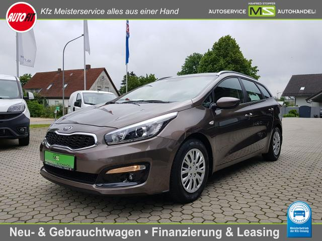 Kia Ceed Sportswagon - Dream-Team 1.6 - CRDi 100 KW AHK-ABNEHMNAR/KLIMA/CD-MP3/USB-AUX-IN