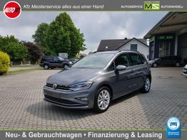 "Volkswagen Golf Sportsvan      Comfortline 1,5 Ltr. - 96 kW 16V TSI ACT-NAVIGATION-LED-ACC-ALU 17""-CD-LICHT SICHT PAKET ! AKTIONSPREIS"
