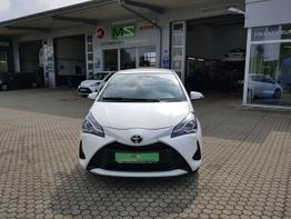 Toyota / Yaris / Weiß / Comfort  /  / Klima, ZV,MULTILENKRAD