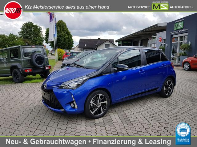 Toyota Yaris - Style Selection 1.5 Dual VVT-iE MULTIDRIVE AUTOMATIK ! SCHWARZES DACH ALU-KAMERA-KLIMAAUTOMATIK-PCS-AUDIO TAS500