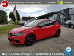 "Seat Leon      FR 1,5 Ltr. - 96 kW 16V TSI/ LED/ Sportsitze/ /ALU 18"" PERFORMANCE/ VIRTUELLES COCKPIT /Winter-Paket"