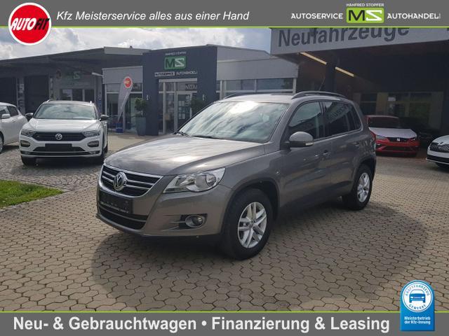 Volkswagen Tiguan - Trend & Fun 4Motion ALLRAD 1.4 TSI-110kW-KLIMAANLAGE-ALU-SITZHEIZUNG-ZV-SERVO-CD 310- AUS 1. HAND