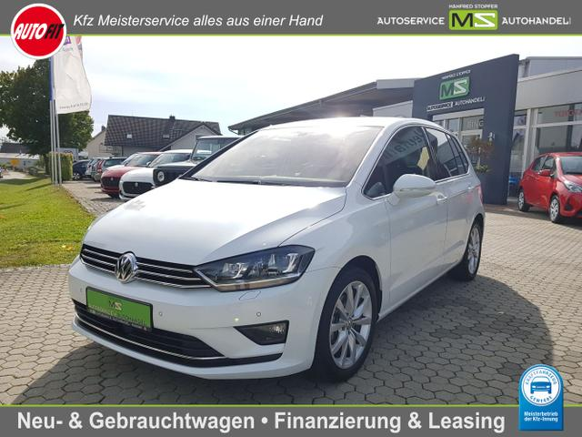 Volkswagen Golf Sportsvan - Highline BMT/Start-Stopp 1.4 TSI 16V-CLIMATRONIC-BI XENON-MULTIFUNKTIONSLENKRAD-PDC VORNE HINTEN-ALCANTARA-AUDIOSYSTEM-WINTERPAKET