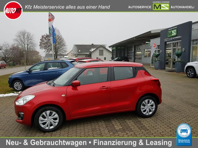 Suzuki Swift - 1.2 Dualjet HYBRID 5-türig-KLIMA-ZV-EL.FENSTERHEBER-AUDIO CD-BLUETOOTH-METALLIC