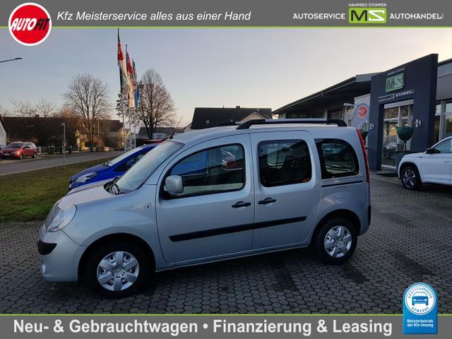 Renault Kangoo - Happy Family 1.6 Klimaanlage-ZV-elektr.Fensterheber-2x Schiebetüren TÜV neu! Scheckheftgepflegt
