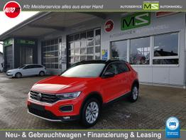 "Volkswagen T-Roc      Sport 1.5 TSI 110 kW ACT DSG 7-GANG-NAVI DISCOVER MEDIA-LED-ACC-KAMERA-SITZHEIZUNG-PDC VORNE HINTEN-DAB-MODELL ""2021"" - SOFORT LIEFERBAR !"