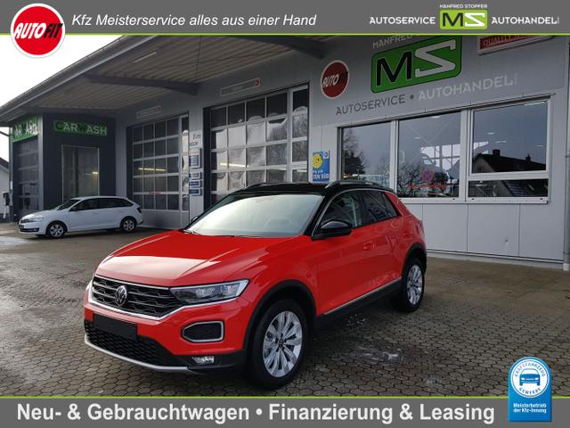Volkswagen T-Roc - Sport 1.5 TSI 110 kW ACT DSG 7-GANG-NAVI DISCOVER MEDIA-LED-ACC-KAMERA-SITZHEIZUNG-PDC VORNE HINTEN-DAB-MODELL