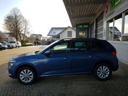 Skoda / Kamiq / Blau / Ambition  /  / Klimaautomatik, ACC,PDC vorne und hinten, Sitzheizung, Spurassist