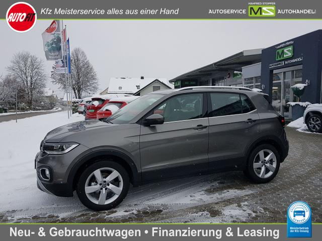 Volkswagen T-Cross - Style 1.0 TSI- 7 GANG DSG-KLIMAAUTOMATIK-ACTIVE INFO DISPLAY-TEMPOMAT MIT ACC-PDC VORNE HINTEN-SIDE ASSIST-BLIND SPOT