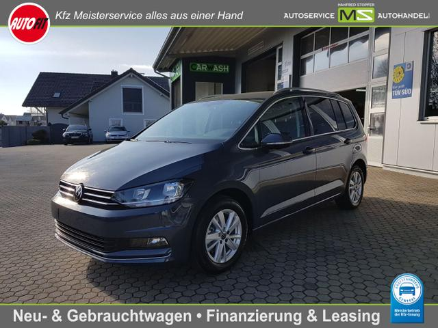 Volkswagen Touran - Highline BMT/Start-Stopp 1.5 TSI 150PS 7-Gang DSG- 7 SITZER! NAVIGATION-AHK SCHWENKBAR-KLIMAAUTOMATIK 3-ZONEN - PDC VORNE HINTEN-ACC-ALU-ERGO SITZE ELEKTRISCH