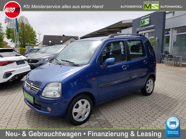 Opel Agila - Elegance 1.2 55 kW 16V - KLIMAANLAGE ZENTRALVERRIEGELUNG ALUFELGEN   TÜV NEU !