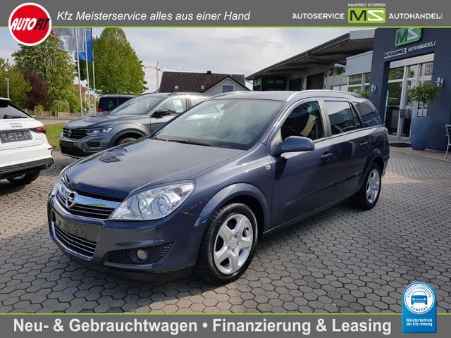 Opel Astra Sports Tourer - Edition 1.6 - 85 kW 16V-KLIMAAUTOMATIK-ANHÄNGERKUPPLUNG-ZV-ELEKTR.FENSTER-CARAVAN PAKET-NSW-MITTELARMLEHNE-CD30 / MP3-ALUFELGEN- TÜV NEU !