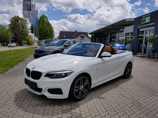 BMW 2er - 218 i M Sport Cabrio - NAVIGATION BUSINESS-LED-ALU 18