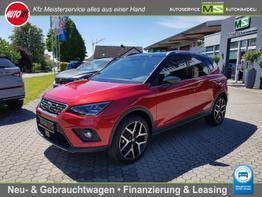 "Seat Arona      FR 1.0 TSI 81 kW - 7-GANG DSG AUTOMATIK- 18"" PERFORMANCE-TEMPOMAT-KLIMA-NAVI-KAMERA-PDC VORNE HINTEN-SITZHEIZUNG-SMARTLINK-FRONT ASSIST"