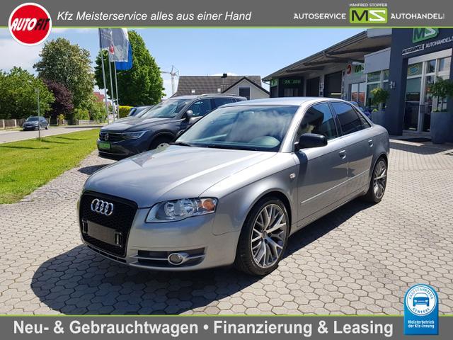 Audi A4 Limousine - 1.8 T quattro - 120 kW 20V Turbo Quattro-Klimaautomatik-Tempomat-Alufelgen-Nebelscheinwerfer-Sitzheizung