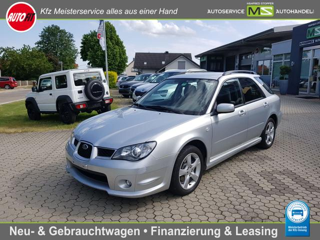 Subaru Impreza - 2.0R Active Automatik KLIMAAUTOMATIK-AHK abnehmbar-ZV MIT FERNBEDIENUNG-LEDERLENKRAD-METALLIC