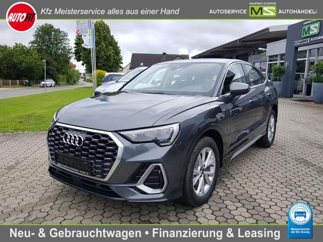 Audi Q3 Sportback - 35 TFSI S line Mild-Hybrid 1.5 -NAVI-TEMPOMAT-LED-ELEKTRISCHE HECKKLAPPE-VIRTUAL COCKPIT PLUS-AUDI SOUND SYSTEM-AUDI CONNECT PLUS-PDC-AUDI PRE SENSE-LANE ASSIST