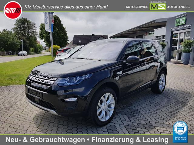 Land Rover Discovery Sport - HSE 2.0 TD4 110KW-KLIMAAUTOMATIK-STANDHEIZUNG-TEMPOMAT MIT ACC-NAVIGATION-ANHÄNGERKUPPLUNG-PANORAMADACH- BI XENON-ALU 19