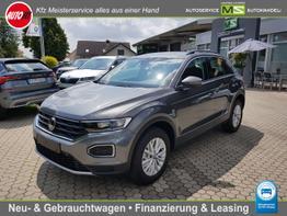Volkswagen T-Roc      Style 1.5 TSI - 110 kW DSG 7-GANG AUTOMATIK! ANHÄNGERKUPPLUNG-NAVIGATION-TEMPOMAT MIT ACC-KLIMAAUTOMATIK-SPURASSIST-FRONTASSIST-BLUETOOTH