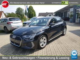 Audi A3 Sportback      35 TFSI S-Line   S-Tronic ! MMI NAVI plus Virtual Cockpit plus-Sportsitze Schaltwippen-LED-ALU-Parkassist Einparkhilfe plus
