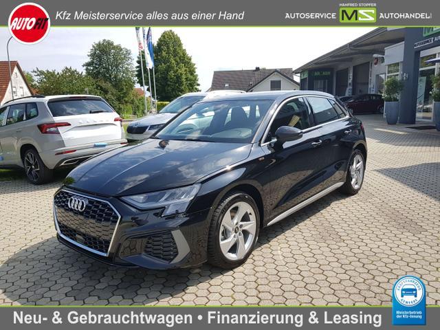 Audi A3 Sportback - 35 TFSI S-Line   S-Tronic ! MMI NAVI plus Virtual Cockpit plus-Sportsitze Schaltwippen-LED-ALU-Parkassist Einparkhilfe plus