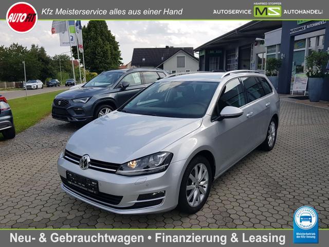 Volkswagen Golf Variant - Highline BMT 2.0 TDI 110 kW EURO6-KLIMAAUTOMATIK-PDC VORNE HINTEN-BI XENON-ALU 17