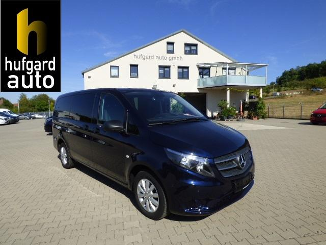 Mercedes-Benz Vito - 114 d BlueTec BlueEfficiency Tourer Pro EDITION Lang Kunstleder Drehflügeltüren 8-Sitzer Komfort Navigaiton Rückfahrkamera Chrom-Paket Thermotronic
