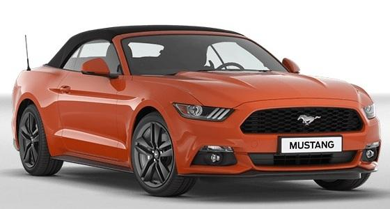 ford mustang convertible ecoboost cabrio eurocars online. Black Bedroom Furniture Sets. Home Design Ideas