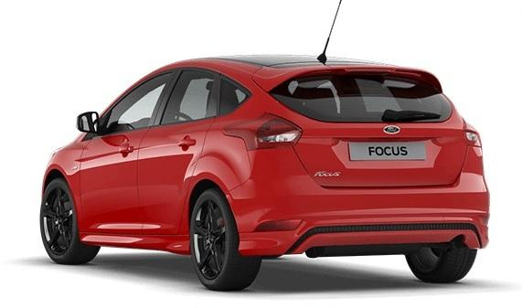 ford focus 5trg 2017 st line red eurocars online. Black Bedroom Furniture Sets. Home Design Ideas