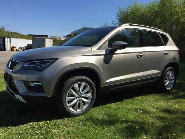 seat ateca xcellence 2 0 tdi cr 4x4 dsg navi 18 alu pdc led eurocars online. Black Bedroom Furniture Sets. Home Design Ideas